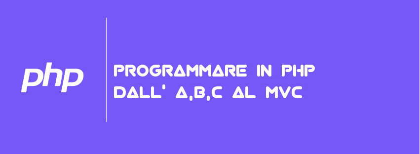 PROGRAMMARE-IN-PHP